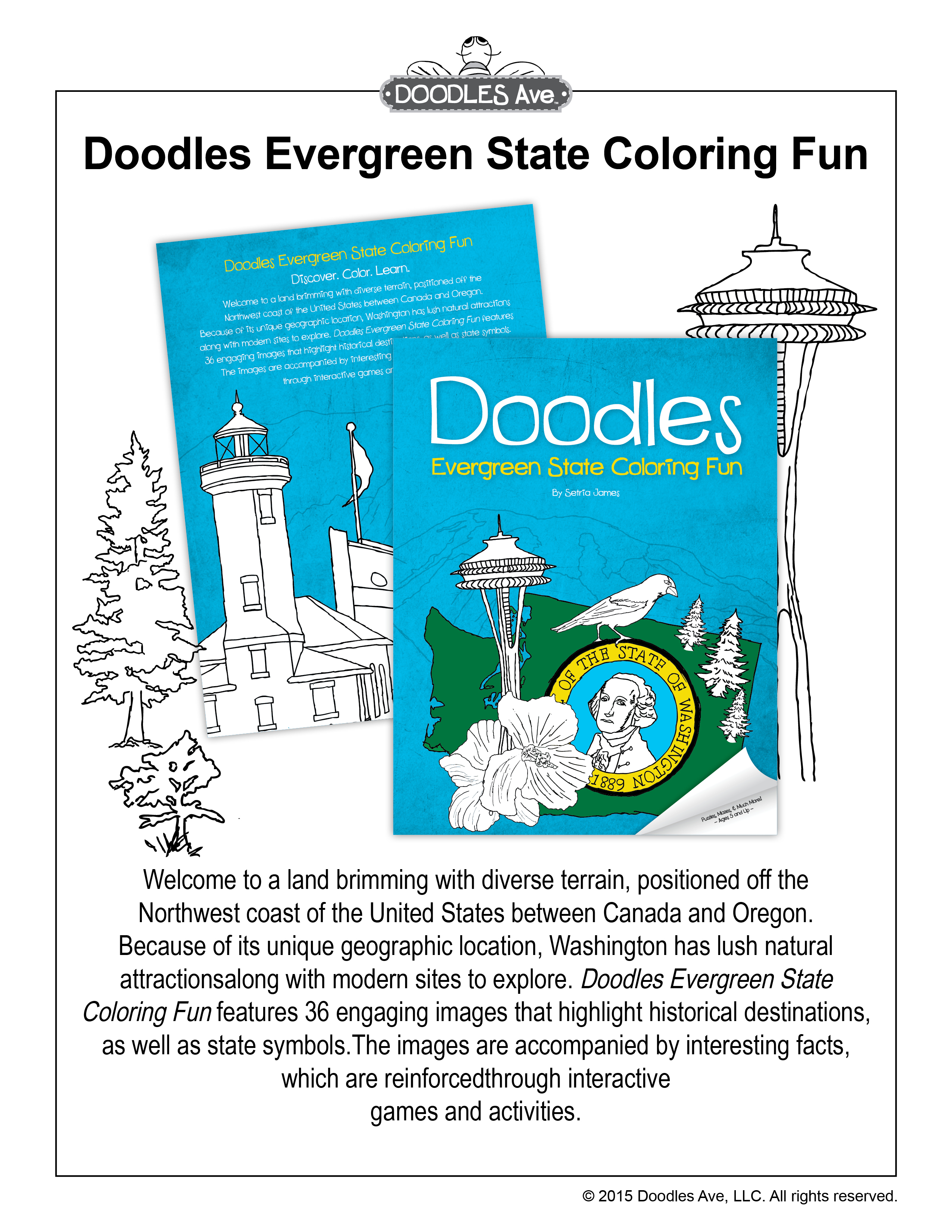 Doodles Ave - Coloring Books For Children | Educational Coloring ...